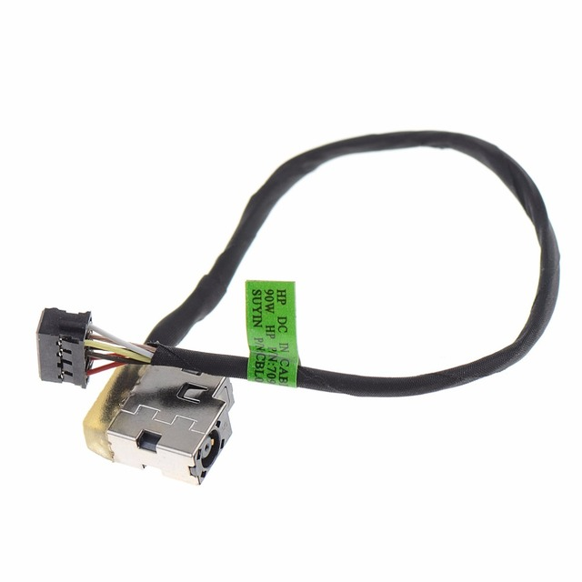 Laptops Connector Replacement DC Power Jack Port Plug Fit For HP Pavilion P/N: 709802-YD1 CBL00360-0150 719859-001 VCT63 Computer Cables & Connectors
