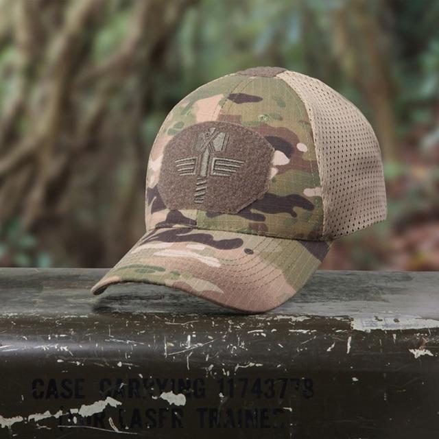 c78240193ed Multicam Arid Tactical Baseball Cap MCA 100% Mesh 65 35 Ripstop Material Baseball  Hat Outdoor Camo Sport Cap MCBK Hunting Caps