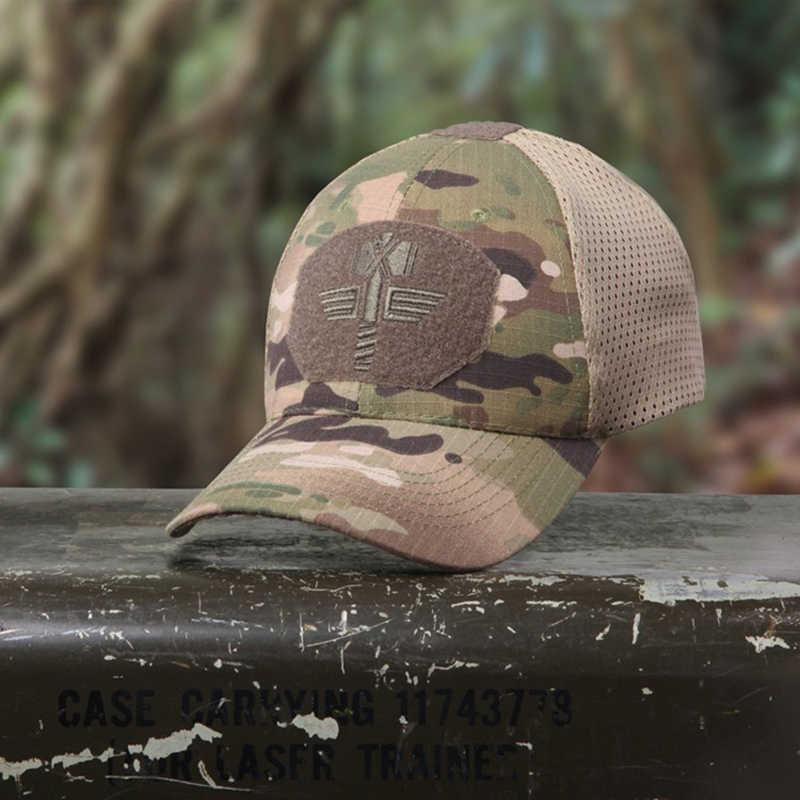 Multicam Arido Berretto da Baseball Tattico Mca 100% Mesh 65/35 Ripstop Materiale Cappello da Baseball All'aperto Cappello Camo Protezione di Sport Mcbk Tappi di Caccia