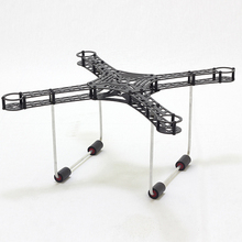 HOBBYINRC S380 Ultraligt Carbon Fiber Frame Kit with Aluminum Landing Gear Skid for DIY RC Multicopter FPV Drone