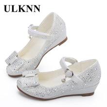 4d260c32e8 ULKNN Venta caliente zapatos de princesa zapatos de cuña para niños calzado para  niñas sandalias de mujer transpirables suaves p.