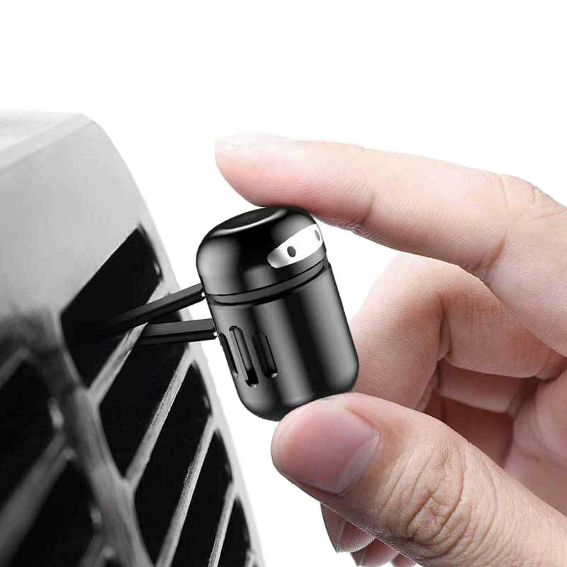 Image 4 - Car Freshener Alloy Mini Robot Vent Clip Perfume Diffuser Decor Automobiles Internal Solid Balm Smell Air Purifier Accessories-in Air Freshener from Automobiles & Motorcycles