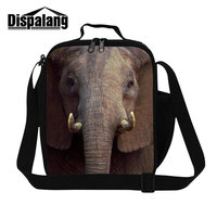Dispalang 2017 Hot Sell Animal Prints Lunch Bag For Men Thermal Insulated Lunch Cooler Bags Waterproof