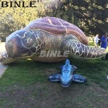 Liftlike 3 м 10ft открытый милый гигантский надувной морская черепаха для деятельности в парке океана