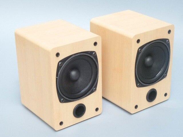 Sound clear and bright 3 inch full-range speaker Computer desktop Stereo audio speaker for Small power Mini Amplifier