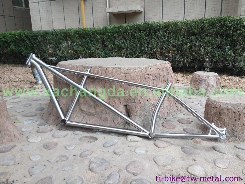 Bike-Frame Tandem Titanium Custom XACD with Tapered Head-Tube Cheap