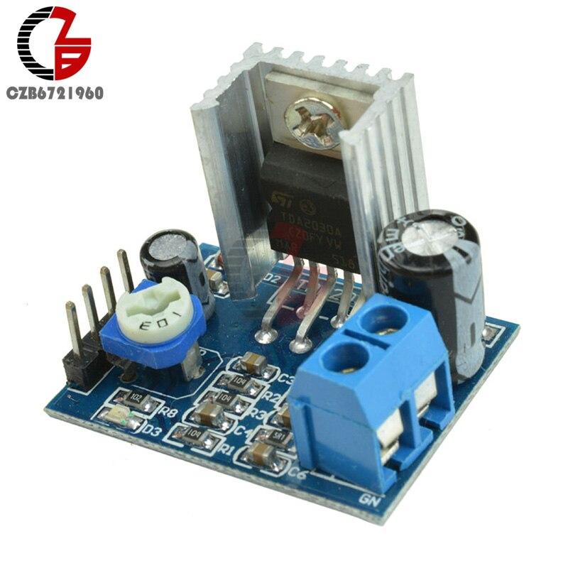 DIY Kit Parts 6-12V 18W Single Power Supply Audio Amplifier Board Module TDA2030A AMP Module TDA2030