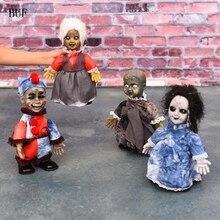 Buf ужас Halloween Party украшения электрический ползать ребенка призрак Творческий Хэллоуин украшения прогулки призраки