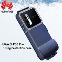 HUAWEI P30 Pro Чехол оригинальный официальный Водонепроницаемый открытая плавательная Дайвинг Камера защитный чехол для HUAWEI P30 Pro подводного пла