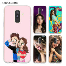 цена на Transparent Soft Silicone Phone Case soy luna frosted softness For Samsung Galaxy A6 A6+ A9 A8 Star A8+ A7 A5 A3 Plus 2018 2016