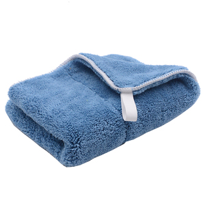 Image 4 - 5PCS 800GSM 40cmx30cm Super Thick Plush Microfiber Car Cleaning Cloth Car Care Wash Microfibre Wax Polishing Detailing Towel