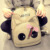Moda conejo de dibujos animados diseño escuela de niñas mochila lienzo alta calidad portátil de la taleguilla bolsas de viaje para los niños