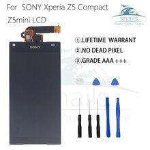 Оригинальный Для sony Xperia Z5 Compact ЖК-дисплей Дисплей Сенсорный экран планшета Ассамблеи для sony Z5 мини E5823 E5803 ЖК-экран