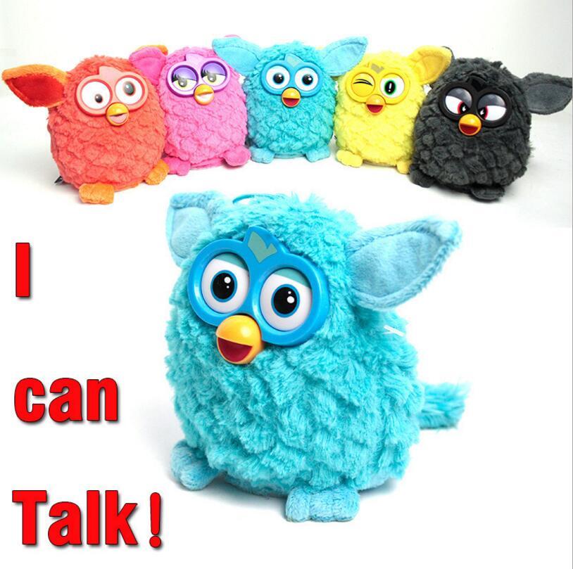 Neue ankunft Elektronische Interaktive Spielzeug Phoebe Firbi Haustiere Fuby Eule Elfen Plüsch Aufnahme Reden Intelligente Spielzeug Geschenke Furbiness boom