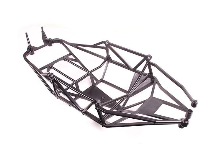 Completa Proteção Interna Roll Bar Gaiola para 1/5 HPI KM Rovan Baja Terminator 5 T 5SC T1000 Caminhão - 3