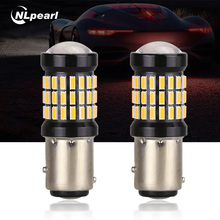 NLpearl 2x 1157 LED Car Brake Lights Reverse Lights Turn Signal font b Lamp b font