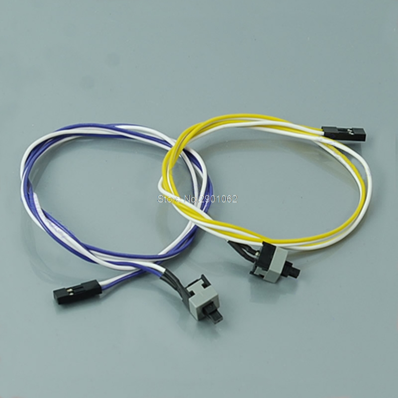 New PC Computer Desktop ATX Power Switch Connector Cable Cord -B119
