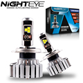Nighteye 80W 9000LM H4 HB2 9003 with Cree LED Headlight Kit Fog Lamps Light Bulbs 6000K White Car Led Lights Free Shipping