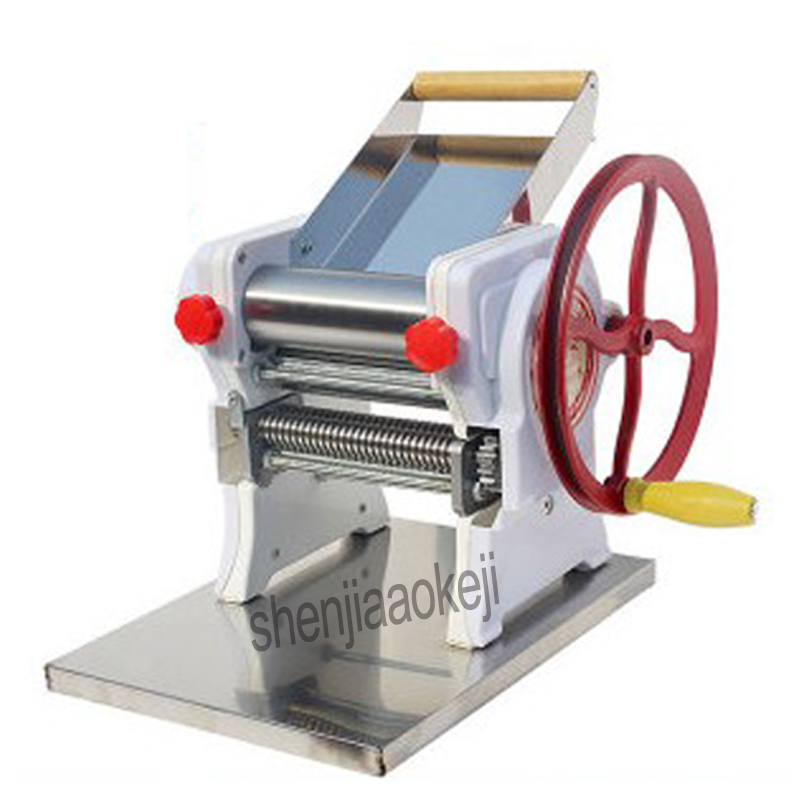 Household manual pasta machine / stainless steel pasta machine pasta machine commercial 18cm noodle roll width-in Electric Noodle Makers from Home Appliances