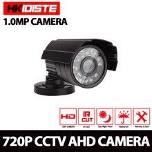 HKIXDISTE AHD Camera 720P 1080P CCTV Bullet Camera CVBS Waterproof 3.6mm Lens CMOS 2000TVL Security 1.0MP Camera