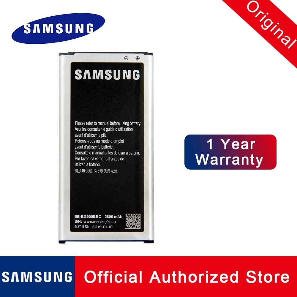 Оригинальная батарея Samsung EB-BG900BBC для Samsung Galaxy S5 9006 V 9006  W