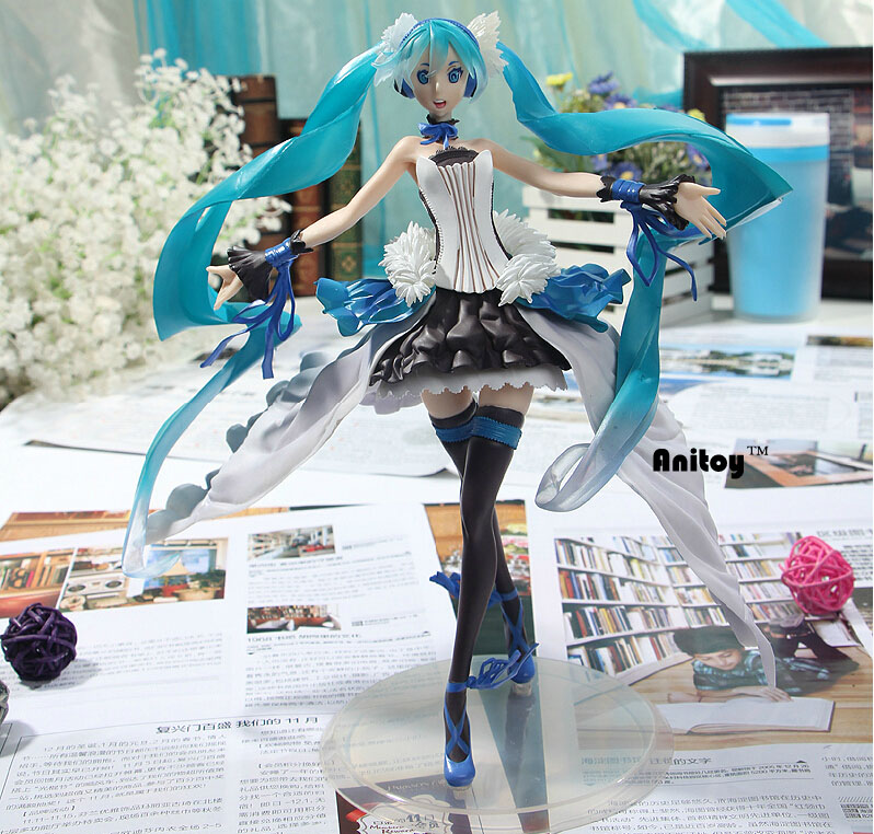 Anime Hatsune Miku Seven Dragon 2020 Type PVC Action Figure Collectible Model Toy Doll 24.5CM KT090