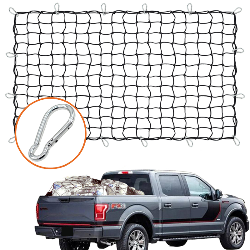 MALUOKASA Car 4 Door Sun Shade Eclipse Top Cover Star Roof Mesh for Jeep Wrangler JK