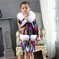 Hot Sales Real Mink Fur Jacket For Girl Top Fashion Natural Mink Fur Multi color Coat New Brand Real Fur hooded Coat Size M-4XL