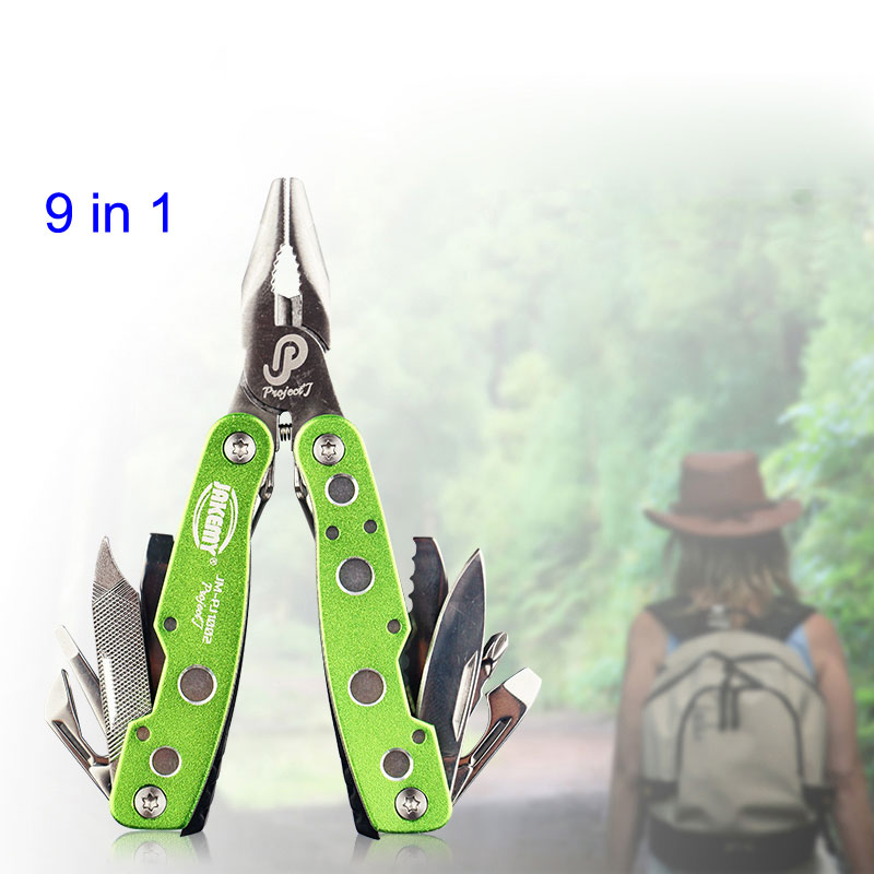 9 in 1 Multifunctional High Hardened Alloy Flat Pliers Knife Screwdriver Multitool Multi Tool Hunting Survival Tools Ferramentas