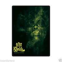 Wiz Khalifa Rolling Papers Size Large Custom Soft Fleece Throw Blanket