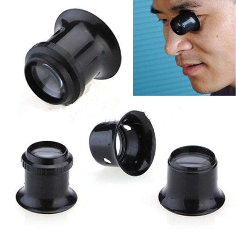 High Quality 10X Monocular Magnifying Glass Loupe Lens Jeweler Tool Eye Magnifier Jewelry Tool