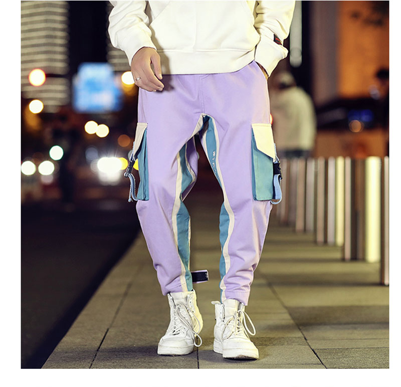 Cool Cargo Pants Men Casual Hip Hop Fashion (16)