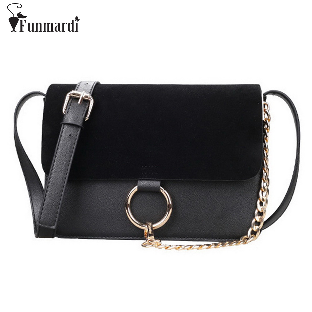 New arrival metal Ring design women bags frosted PU leather women messenger bags fashion star style cross-body bag WLHB1307