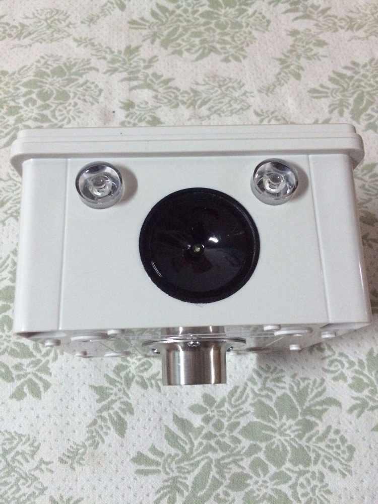 Solar Power Ultrasonic Bird Repeller Flashlight Sound Driving Anti Bird  Devices Birds Pest Repellent For Farm Garden Protection