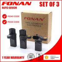 Good A Set Of Three Engine Camshaft Position Sensor For NISSAN INFINITI 23731AL60A 237316J90B 23731AL60C 23731AL606