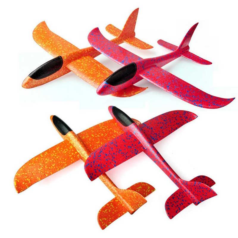 יד לזרוק עף מטוסי דאון קצף מטוסי דגם EPP עמיד הבריחה מטוסים מסיבת משחק ילדים חיצוני כיף מתנת צעצועים
