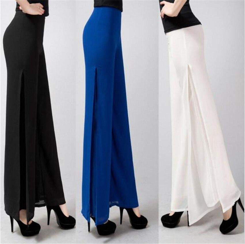 MLCRIYG 2017 frühling sommer neue weibliche Koreanische mode taille drapieren weites bein hose hose