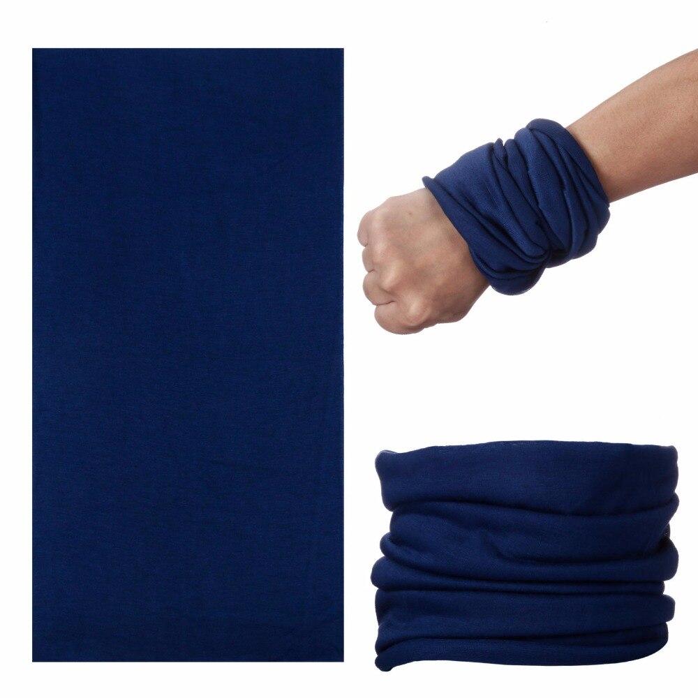 Solid Color Unisex Turban Seamless Neck Warm Wraps Gaiter Face Shield Shemag Buffe Ring Scarf Bandanas Headwear Fashion Hijab UV