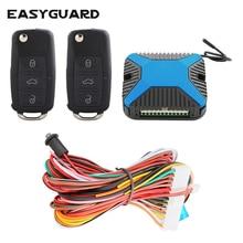 EASYGUARD компания качество Авто Автозапуск комплект ключи для удаленной блокировки автомобиля Блокировка центральной дв