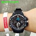 SANDA Reloj Señoras de Las Mujeres Famosa Marca De Lujo Del Deporte LED Digital Relojes Mujer Reloj Digital de reloj Relogio Feminino Montre Femme