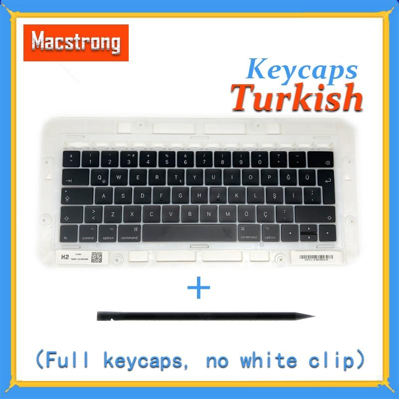Original A1706 A1707 A1708 Turkish Keycaps For font b Macbook b font Pro Air Retina 13