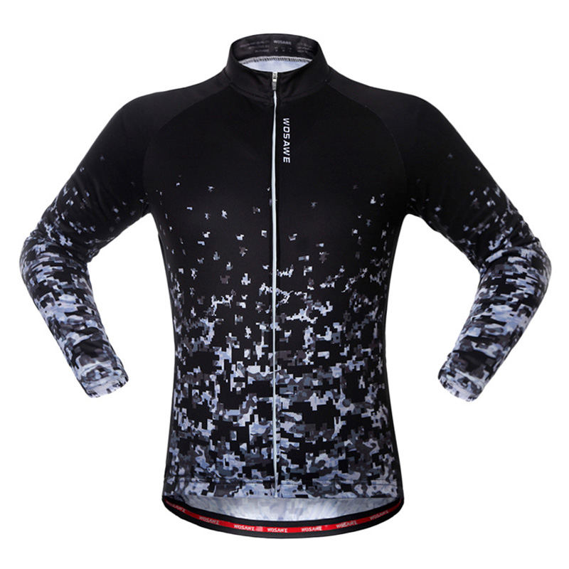 Jacket Shirts Cycling-Jerseys Riding-Clothing Sports-Wear Long-Sleeved Reflective Women