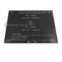 For RepRap 3D Prusa Mendel Printer MK2A 300 300 3 0mm Heater Bed RAMPS 1 4