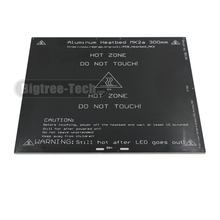 2017 MK2A 300*300*3.0mm RepRap RAMPS 1.4 PCB Aluminum Heatbed Hot Plate For Mendel For 3D Printer MK2B