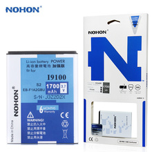 Original NOHON EB-F1A2GBU Battery For Samsung Galaxy S2 Z R I9100 I9103 I9188 I9108 i9101 i777 1700mAh Replacement Batteries