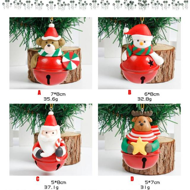 Christmas Tree Decoration Bells Ornament Home Decor Holiday Gift Old Man Snowman Ornaments