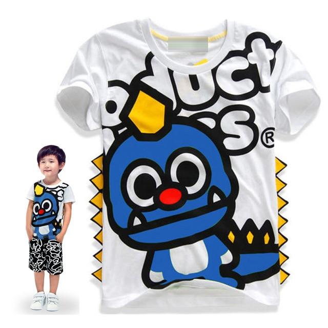2-8 años niños camisetas bebés ropa linda niños top niñas - Ropa de ninos - foto 5