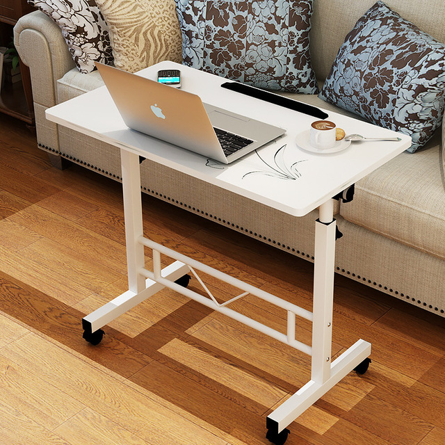 Multifunctional Portable Lifting Laptop Table Simple Modern Computer Desk  Home Office Desk Lazy Standing Desk Bed