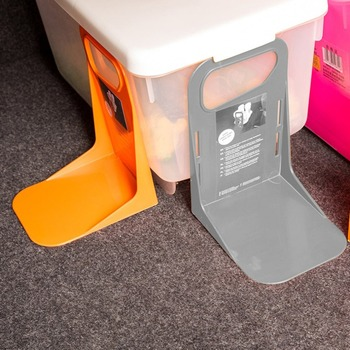 Wielofunkcyjny tylny bagażnik samochodowy stały uchwyt na półkę pojemnik na bagaże stojak odporny na wstrząsy Organizer uchwyt na schowki Hot tanie i dobre opinie CN (pochodzenie) 19cm Tylny regały i akcesoria Fixed Rack Holder 100g 14cm 12cm