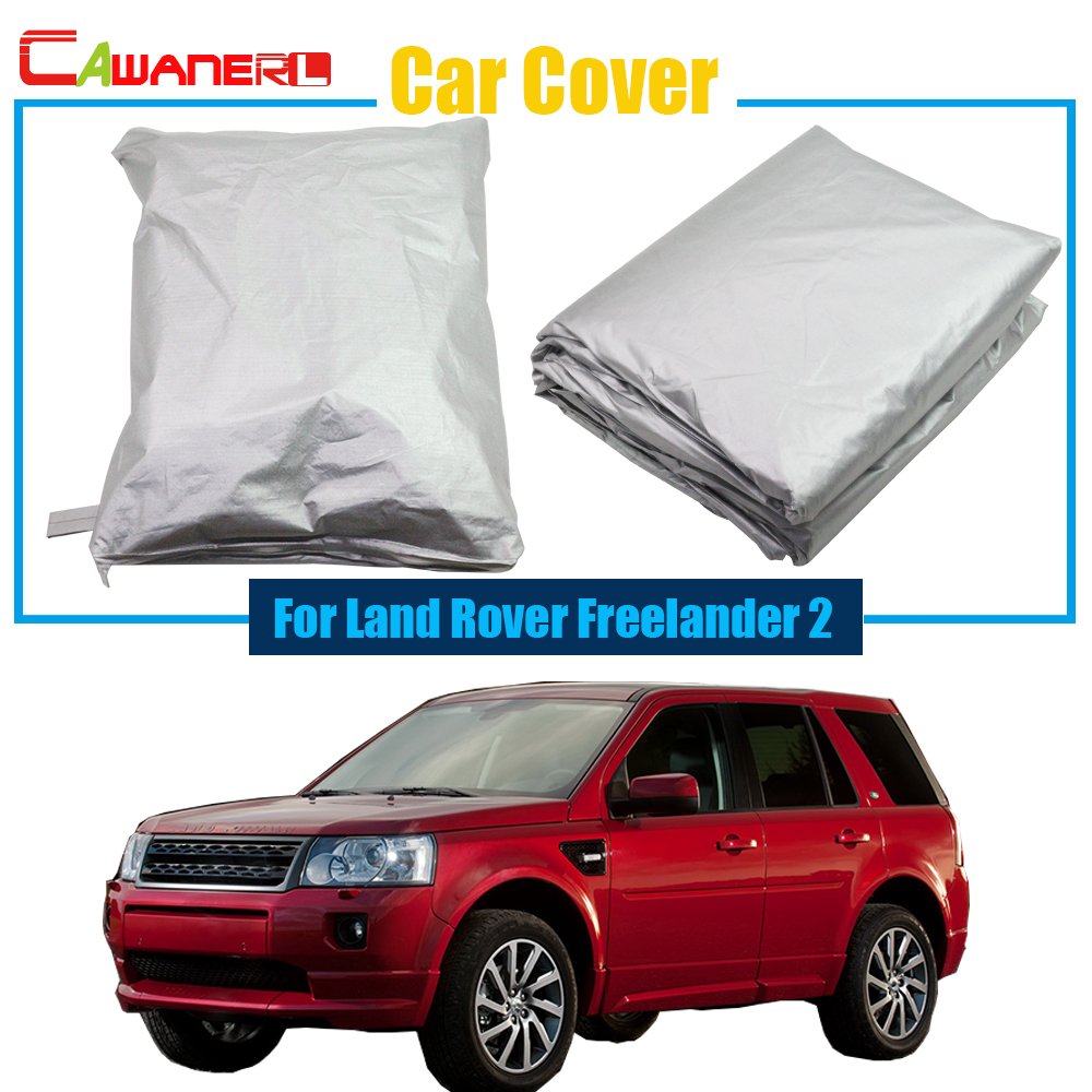Cawanerl Outdoor Car Cover Anti UV Rain Sun Snow Resistant Protection Cover Car Styling For Land